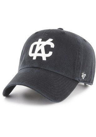 e835e6e63ff  47 Kansas City Athletics Black Clean Up Adjustable Hat