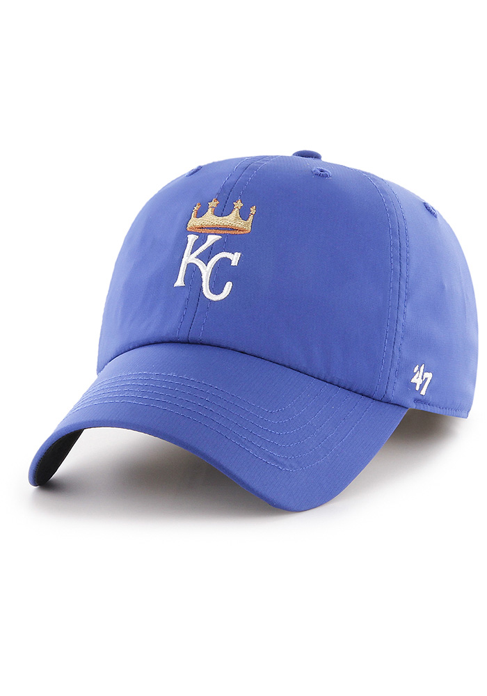'47 Kansas City Royals Repetition Clean Up Adjustable Hat - Blue - Image 1