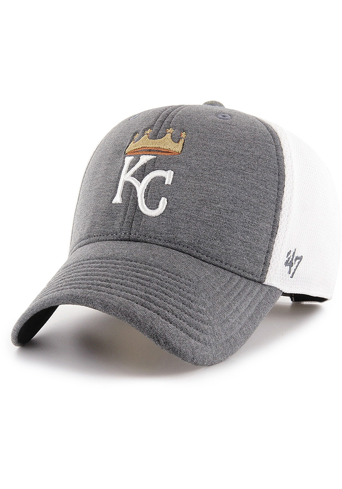 '47 Kansas City Royals Haskell MVP Adjustable Hat - Charcoal - Image 1