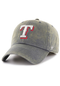 Texas Rangers 47 Navy Blue Cement Franchise Fitted Hat