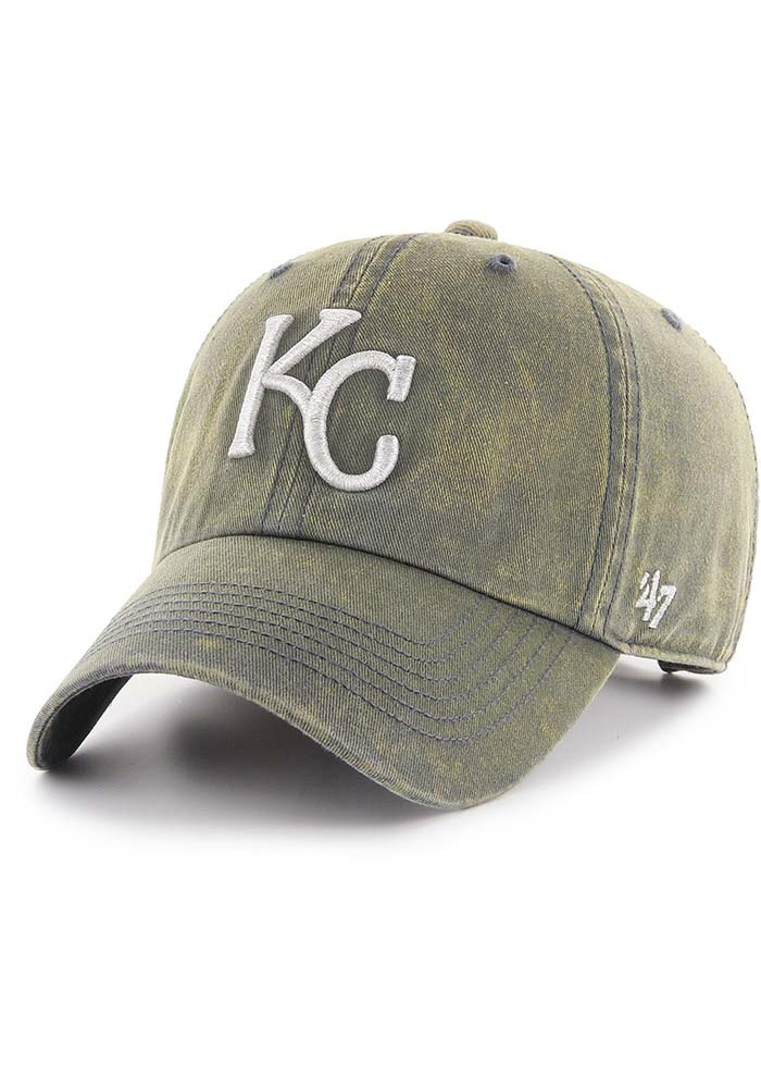 '47 Kansas City Royals Cement Clean Up Adjustable Hat - Navy Blue - Image 1