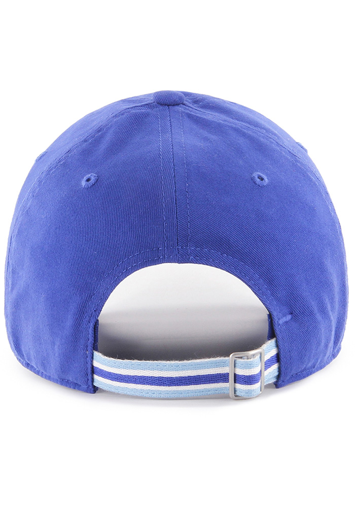 '47 Kansas City Royals Blue Courtney W Clean Up Womens Adjustable Hat - Image 2
