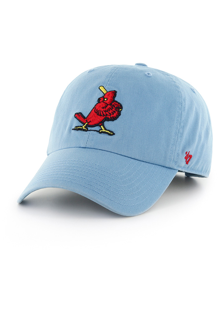 reputable site 04f71 970e2 ireland 47 st louis cardinals light blue clean up adjustable hat fa1c1 a2836