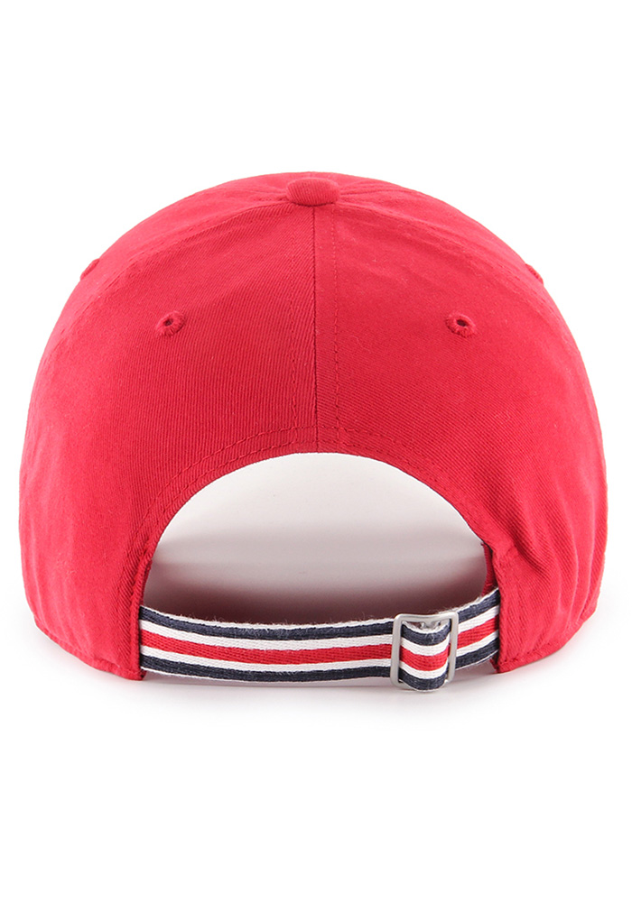 '47 St Louis Cardinals Red Courtney W Clean Up Womens Adjustable Hat - Image 2