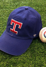 Texas Rangers 47 Blue Cooperstown Franchise Fitted Hat