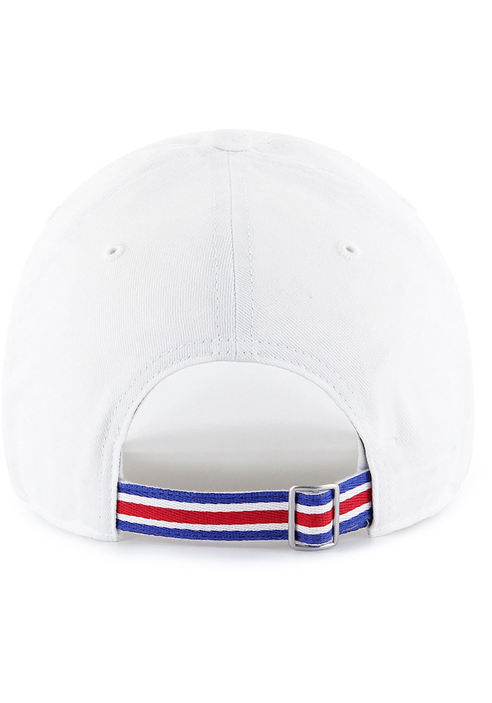 47 Texas Rangers White Courtney W Clean Up Womens Adjustable Hat - Image 2