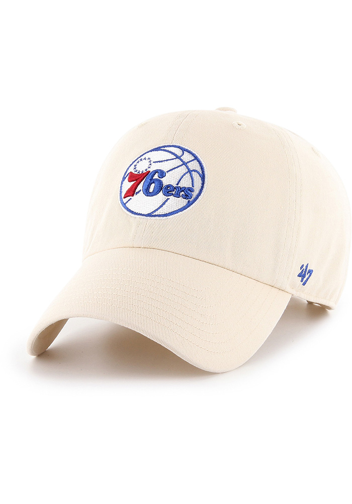'47 Philadelphia 76ers Clean Up Adjustable Hat - Brown - Image 1