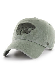 47 K-State Wildcats Clean Up Adjustable Hat - Green