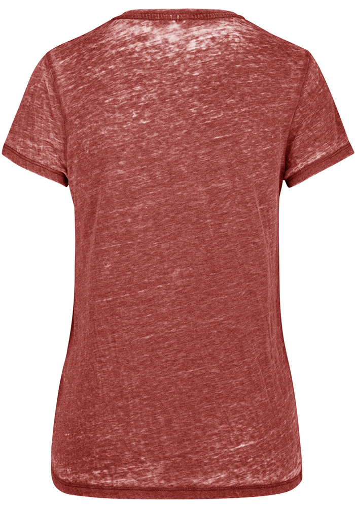 '47 Texas Tech Red Raiders Womens Red Fade Out Short Sleeve T-Shirt - Image 2