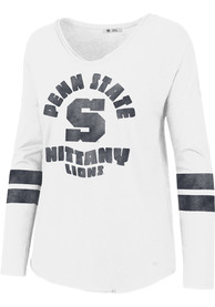 Penn State Nittany Lions Womens 47 Letter Courtside T-Shirt - White