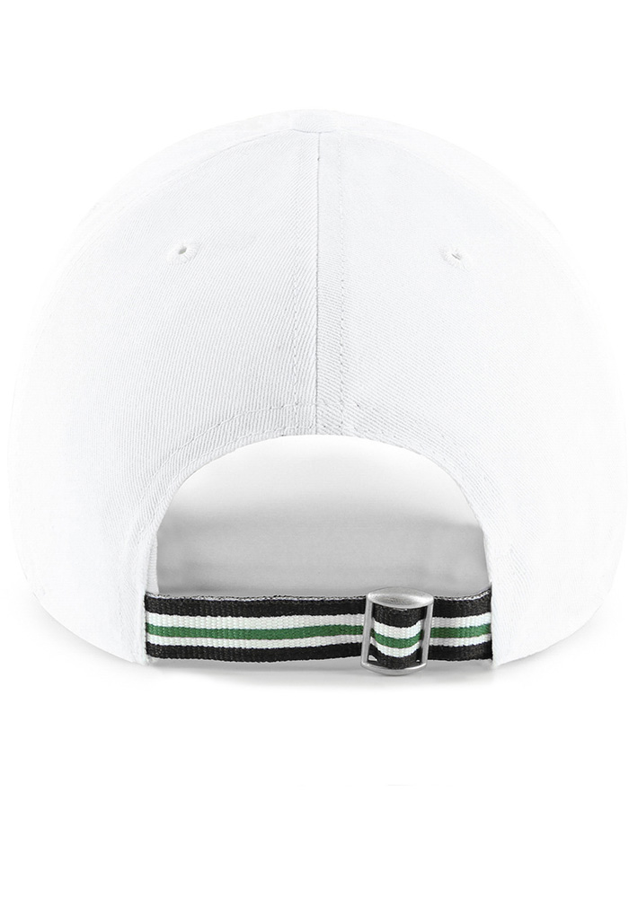 '47 Philadelphia Eagles White Courtney Clean Up Womens Adjustable Hat - Image 2