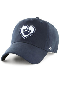 47 Penn State Nittany Lions Womens Navy Blue Courtney Clean Up Adjustable Hat