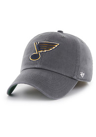 ab6a3756a4a St Louis Blues  47 Grey Franchise Fitted Hat