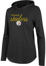 47 Pittsburgh Steelers Womens Black Club Hoodie