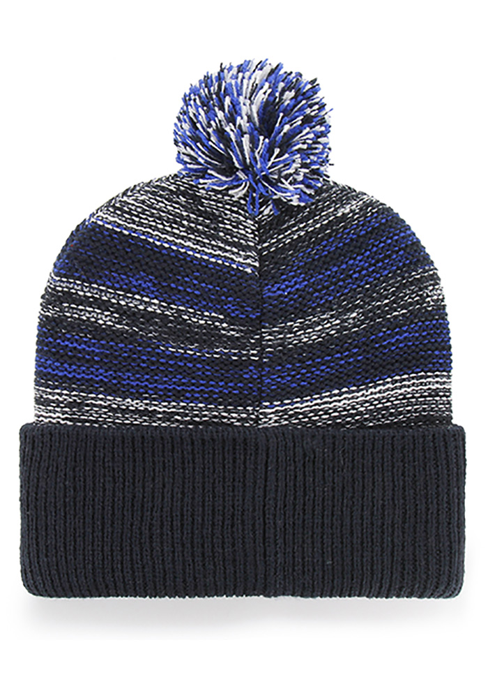 '47 St Louis Blues Navy Blue Sideboard Cuff Knit Mens Knit Hat - Image 2