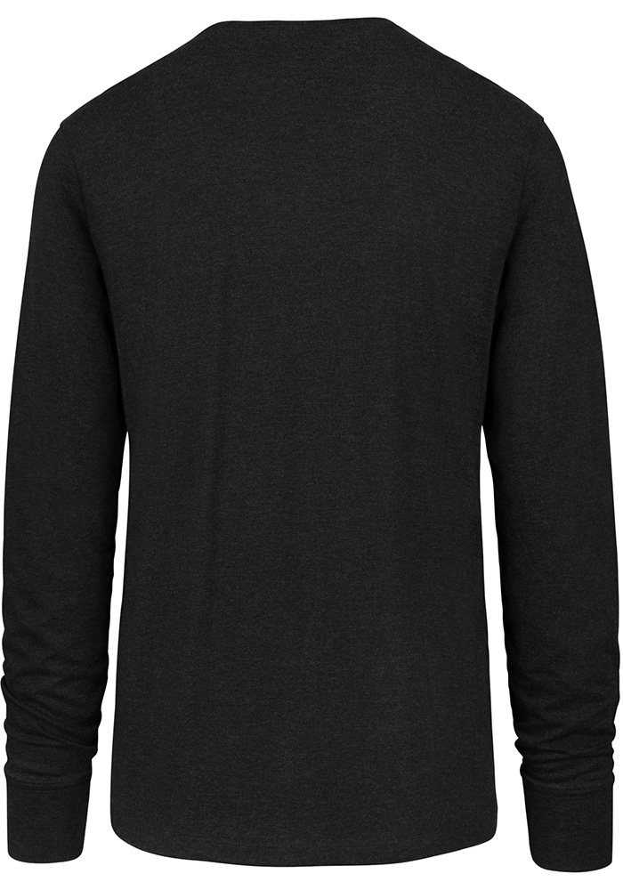 '47 Chicago Blackhawks Black Imprint Long Sleeve T Shirt - Image 2