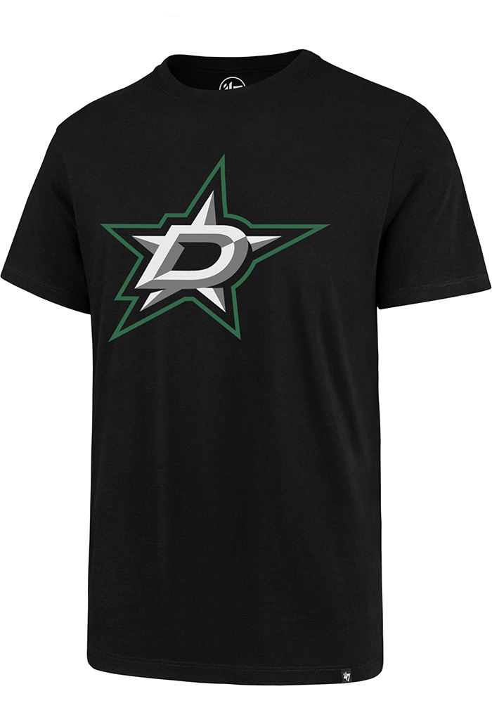 '47 Dallas Stars Black Imprint Short Sleeve T Shirt - Image 1