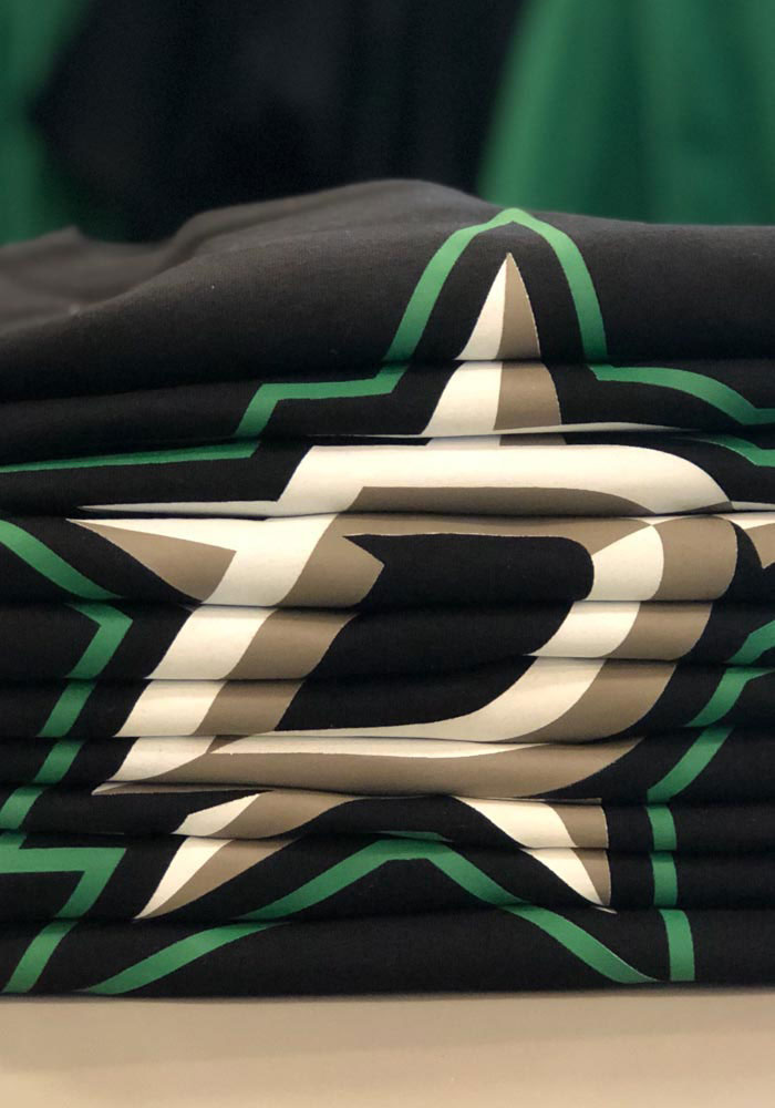 '47 Dallas Stars Black Imprint Short Sleeve T Shirt - Image 3