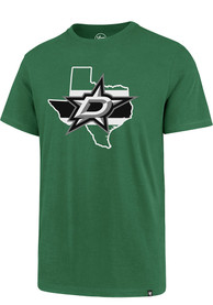 Dallas Stars 47 Regional T Shirt - Kelly Green