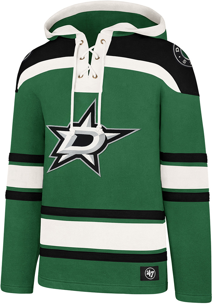 Dallas Stars 47 Superior Lacer Fashion Hood - Kelly Green