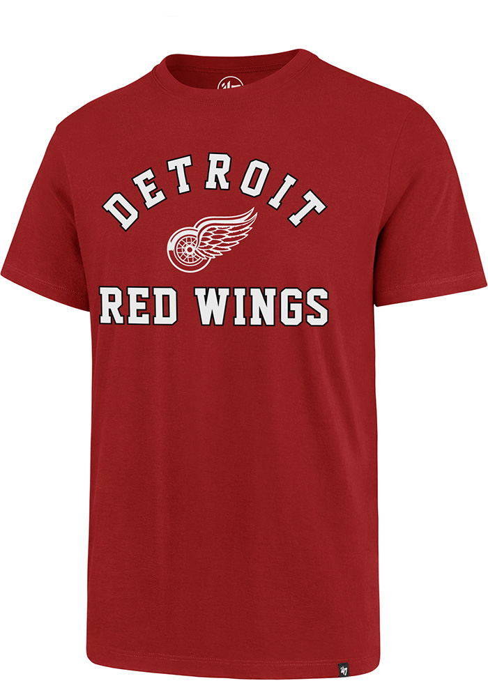 Detroit Red Wings 47 Varsity Arch T Shirt - Red
