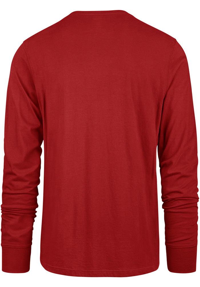 47 Detroit Red Wings Red Imprint Long Sleeve T Shirt - Image 2