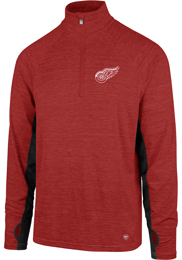 47 Detroit Red Wings Red Microlite Shade 1/4 Zip Pullover