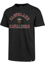 Cleveland Cavaliers 47 Varsity Arch Club T Shirt - Black