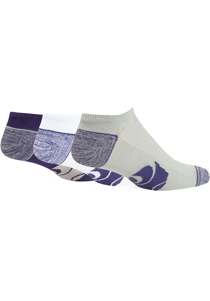 '47 K-State Wildcats Blade Mens No Show Socks - Image 2