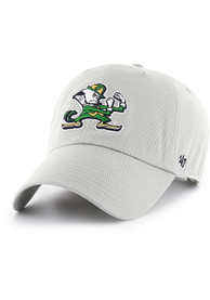 buy online be86a 73e1e  47 Notre Dame Fighting Irish Clean Up Adjustable Hat - Grey