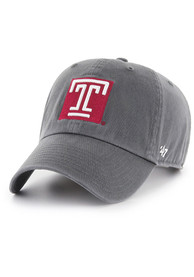 Temple Owls 47 Clean Up Adjustable Hat - Grey