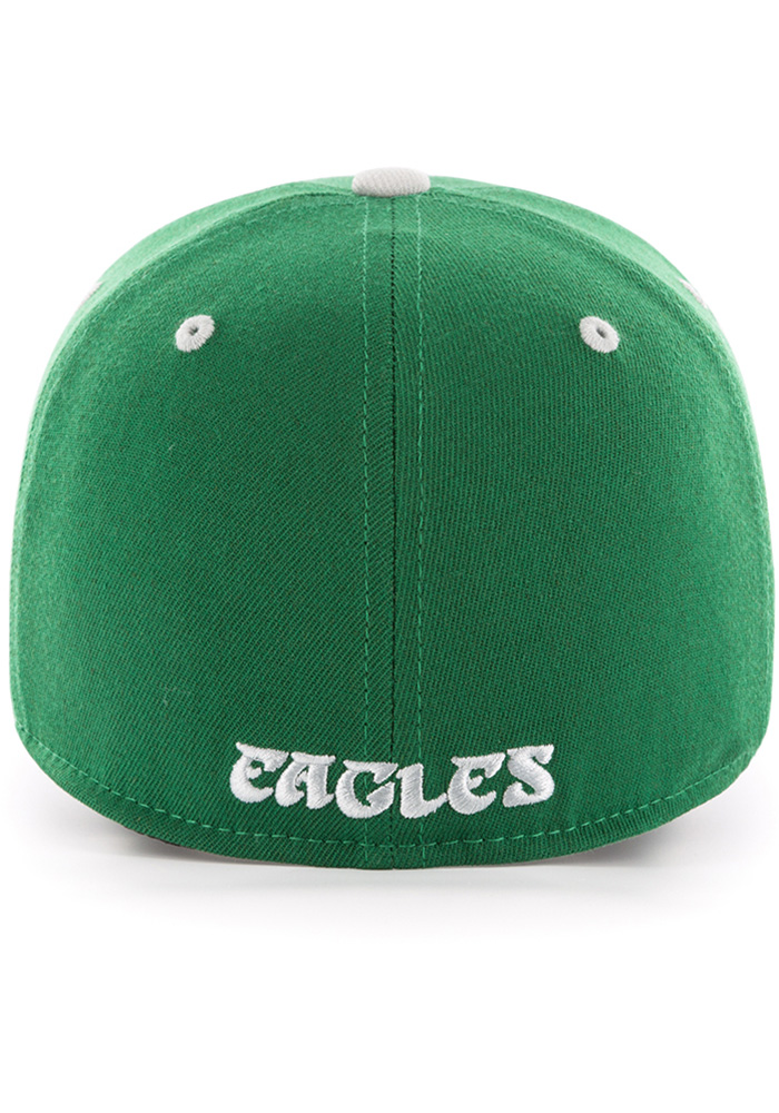 '47 Philadelphia Eagles Mens Kelly Green Kickoff Contender Flex Hat - Image 2