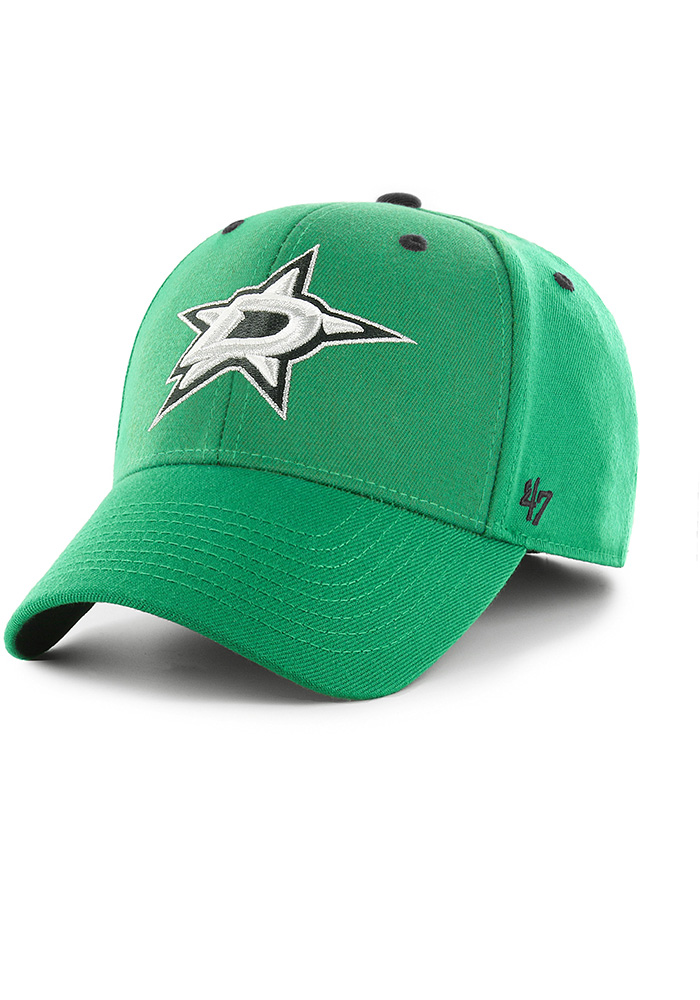 47 Dallas Stars Mens Kelly Green Kickoff Contender Flex Hat - Image 1
