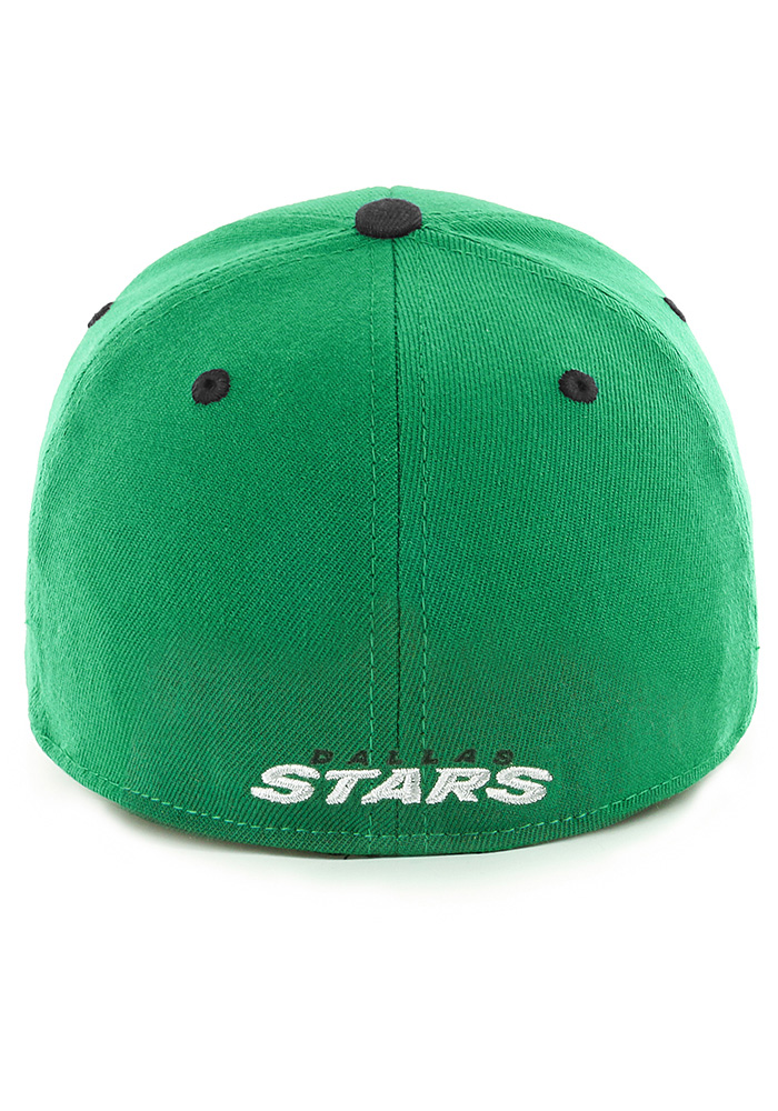47 Dallas Stars Mens Kelly Green Kickoff Contender Flex Hat - Image 2