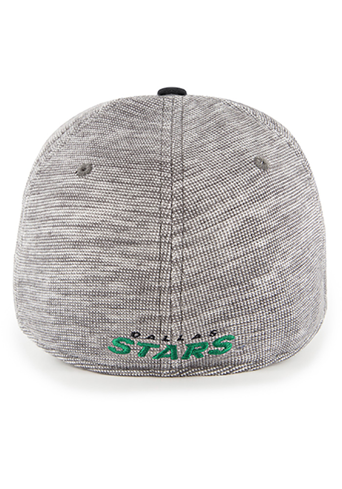 47 Dallas Stars Mens Black Verona Contender Flex Hat - Image 2