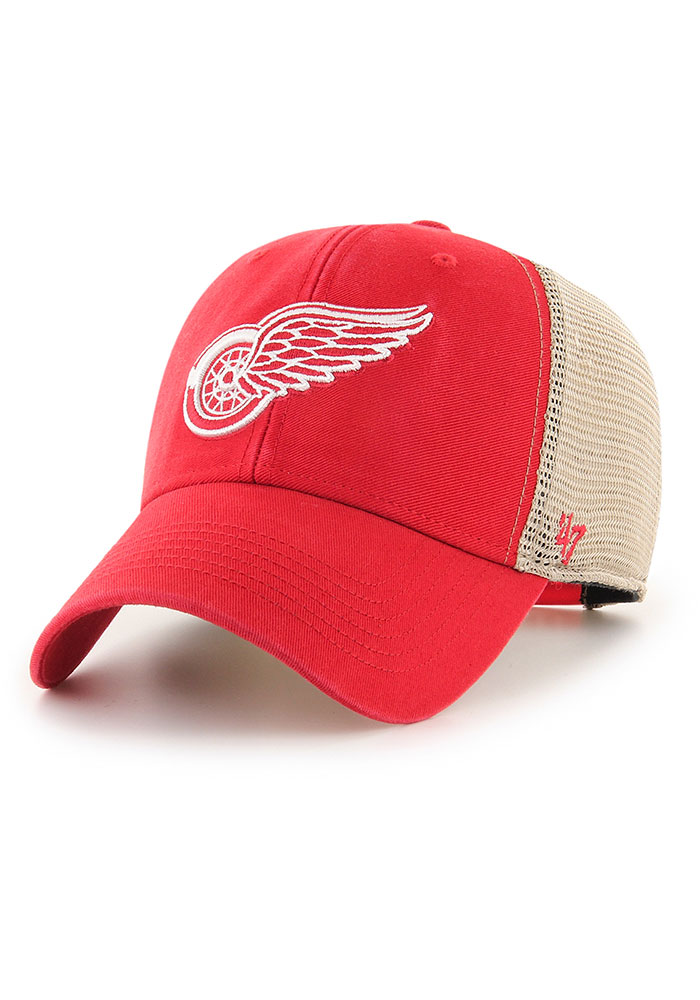 47 Detroit Red Wings Flagship Wash MVP Adjustable Hat - Red - Image 1