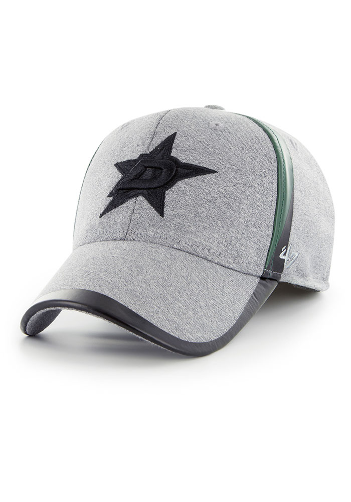 '47 Dallas Stars Mens Grey Alloy Contender Flex Hat - Image 1