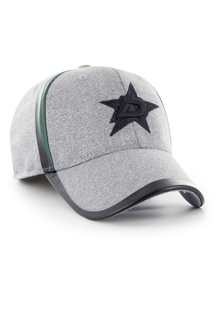 '47 Dallas Stars Mens Grey Alloy Contender Flex Hat - Image 2