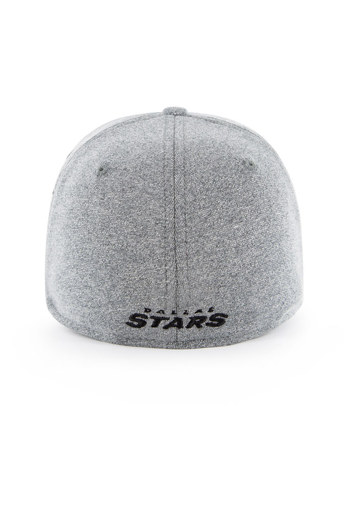'47 Dallas Stars Mens Grey Alloy Contender Flex Hat - Image 3