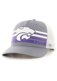 47 K-State Wildcats Altitude MVP Adjustable Hat - Grey
