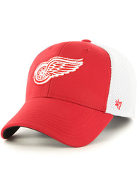 47 Detroit Red Wings Red Offense Contender Flex Hat