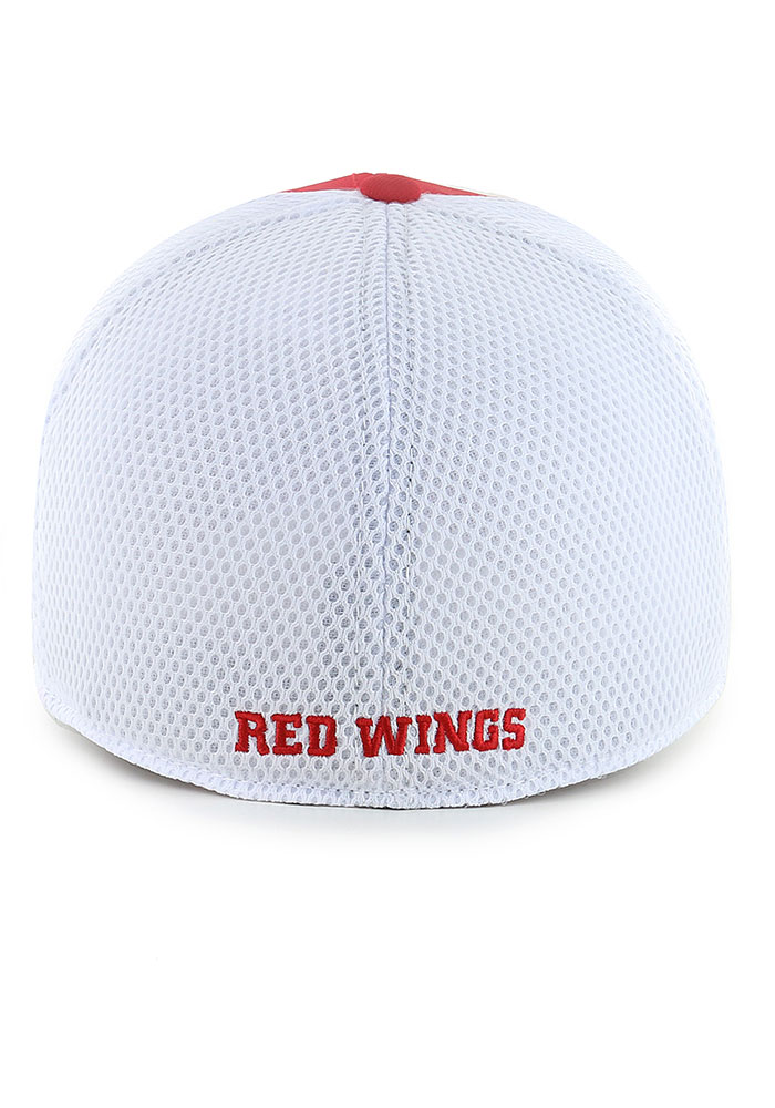 '47 Detroit Red Wings Mens Red Offense Contender Flex Hat - Image 2