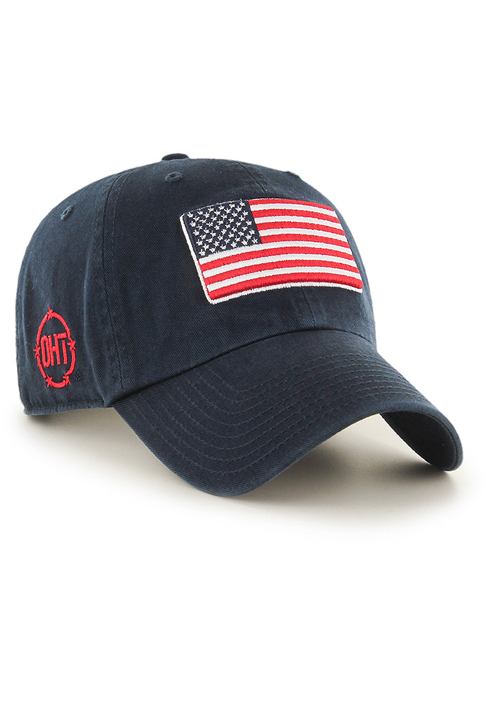 47 Team USA OHT Clean Up Adjustable Hat - Navy Blue