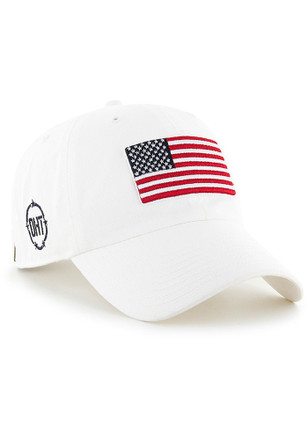 b927c1f2e55  47 Team USA White OHT Clean Up Adjustable Hat