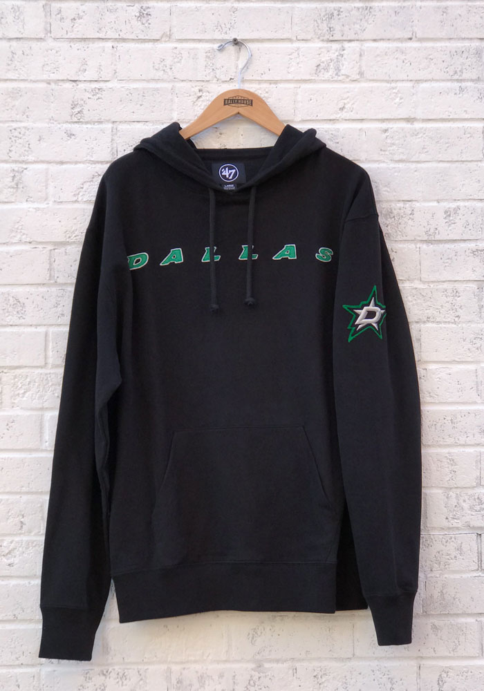 '47 Dallas Stars Mens Black Striker Fashion Hood - Image 1