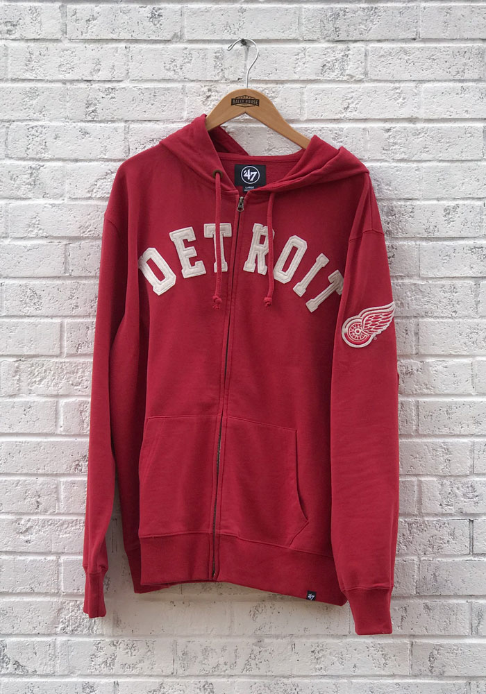 '47 Detroit Red Wings Red Striker Zip Fashion