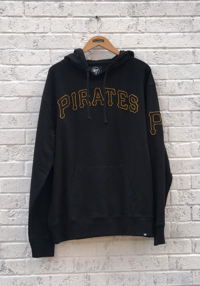 '47 Pittsburgh Pirates Mens Black Striker Fashion Hood - Image 1