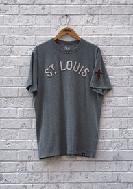 47 St Louis Browns Grey Striker Fashion Tee