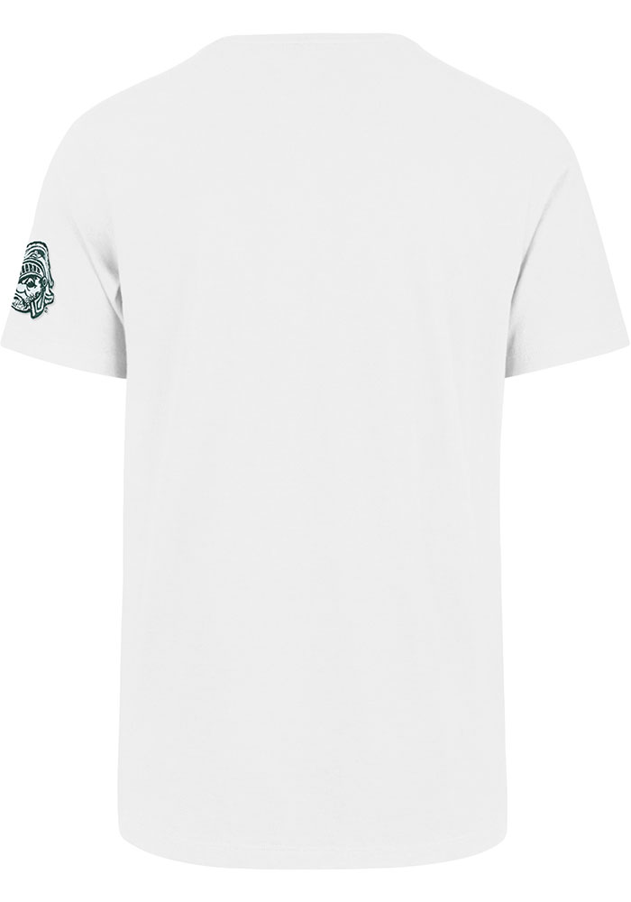 47 Michigan State Spartans White Fieldhouse Short Sleeve Fashion T Shirt - Image 2