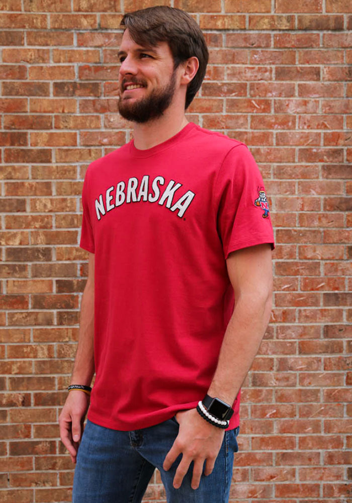 47 Nebraska Cornhuskers Red Fieldhouse Short Sleeve Fashion T Shirt - Image 2